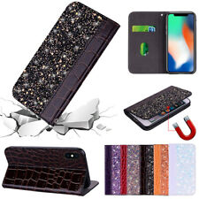 Luxury Leather Magnetic Wallet Phone Flip Case Cover For iPhone XS Max X 8 7 6S