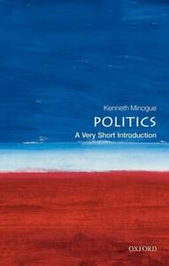 A very short introduction: Politics by Kenneth Minogue (Paperback) Amazing Value