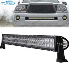 "For 05-15 Toyota Tacoma 30"" 180W LED Light Bar Front Hidden Bumper Driving Lamp"