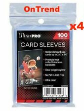 Ultra Pro Soft Card Sleeves Clear Penny Protector MTG Pokemon 4 x 100 Packs 400