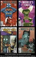 World's Finest (2nd Series) 1/A 2/B 3/B 4/B Complete Set Run Lot 1/A-4/B VF/NM