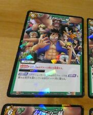 ONE PIECE MIRACLE BATTLE CARDDASS CARD HOLO PRISM CARTE 11/12 JAPAN 2010 NM