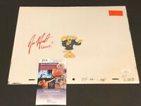 Jess Harnell The Pink Panther Cartoon Voice Signed Autograph Production Cell JSA