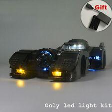 Kyglaring LED Light for LEGO 76139 1989 Batmobile DC Batman with battery box