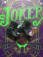 SQUADRA Toys suicidio Hot JOKER VER Cappotto Viola Nero Boots & Peg Loose SCALA 1/6th