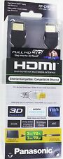 Lot of 10 Panasonic RP-CHES30 9.8 F High Speed HDMI Cable 10.2 Gbps 4K HD 1080P