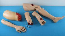Laerdal Bleeding Trauma Modules, Bleeding Amputation Arms & Thighs W. Carry Bag