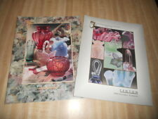 Fenton Art Glass Catalogs 1997 & 1998 Years  -  Lot of 2 Brochures