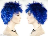 Spike Exotic Glamorous Look Medium Straight Fun Color Costume Wigs