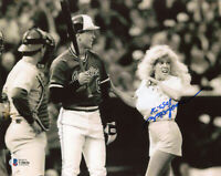 MORGANNA SIGNED AUTOGRAPHED 8x10 PHOTO CAL RIPKEN JR. ORIOLES RARE BECKETT BAS