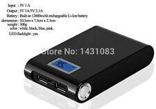 USB 5V Litium Ionen Akku 6500maH für  GPS Tracker  TK-102  Coban Zusatzakku