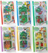 Auldey tomy Pokemon Pocket Monsters Mini Playset CHIBI NINTENDO RARE Set Of 6