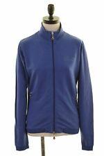 PIRELLI Womens Tracksuit Top Jacket Size 14 Medium Purple Cotton  AF02