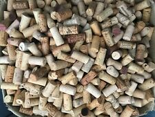 100 Used Wine Corks - Mixed Lot - Clean or Stained