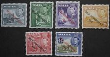 Pre-Decimal 6 Number British Colony & Territory Stamps