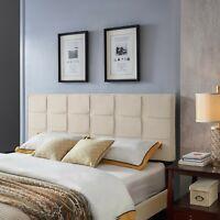 Messyah Contemporary Upholstered King/Cal King Headboard
