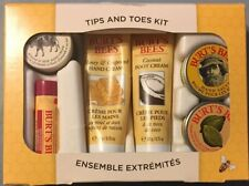Burts Bees Tips and Toes Kit~ 6 Piece Set~ NIB