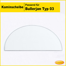 Kaminglas Ofen Glas feuerfestes Glas Kaminofenglas Ofenglas Ersatz Bullerjan 03