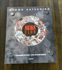 Japan edition Akira Club art book New w/ postcards - ships from Us
