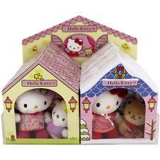 Hello Kitty mit Freund im Häuschen Plüsch NEU