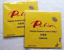 2x Palio CK531A Long Pips Rubber Sheets (NO Sponge), Melbourne