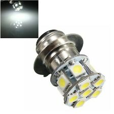 DC 6V P15D 5050 Motorcycle 12SMD LED Headlight Lamp White