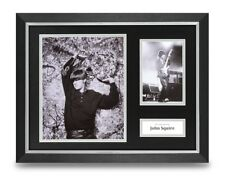 John Squire Signed 16x12 Framed Photo Display Stone Roses Autograph Memorabilia