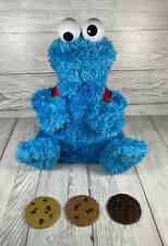 Cookie Monster Talking Count 'n' Crunch Hasbro Toys Sesame Street Complete Works