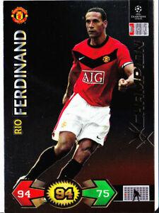 Champions League Super Strikes 09/10 Rio Ferdinand Manchester United Champion