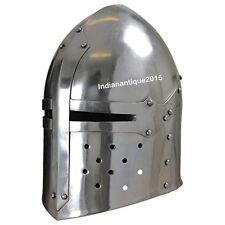 Medieval Suger loaf Armour Helmet  helmets-with Inner Liner