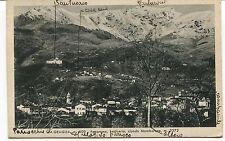 1942 Graglia Panorama Santuario Mombarone Guller Vercelli dest. Lucca FP B/N VG