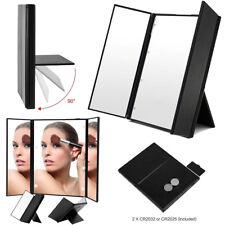 LED Specchietto cosmetico portatile in miniatura make up specchio per trucco