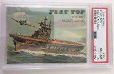 PSA 8 1955 Topps Flat Top Rails & Sails #200 NM-MT