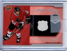 2015-16 Upper Deck A Piece Of History 1000 POINT #PC-DS Denis Savard