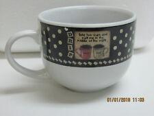 Coffe Lover Coffee Mug - Funny - over 12 oz Black/White Ceramic Mug by D. Akins