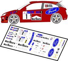 DECALS 1/43 FORD FOCUS WRC  #1 - KULIG - RALLYE ZIMOWY DOLNOSLASKI 2001 - D43001