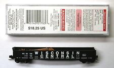 Mtl Micro-Trains 46330 Wisconsin Central Wc 55136 or 55169
