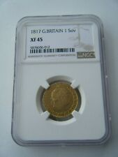 More details for 1817 sovereign king george iii ngc xf45 full gold sovereign coin