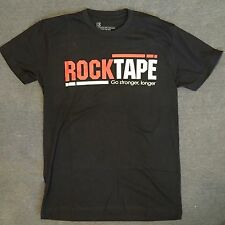 NWoT Men's Rock Tape Cotton Blend T-Shirt, Black, Size Small