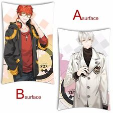 Game Mystic Messenger 707 Luciel Choi ZEN Dakimakura Cushion Pillow case 35x55cm