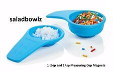 TUPPERWARE MEASURING CUPS MAGNETS Salt Water Taffy Tiny Treasures Magnet fREEsHP