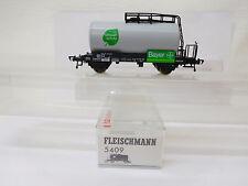 MES-54505Fleischmann 5409 H0 Kesselwagen DB Bayer sehr guter Zustand
