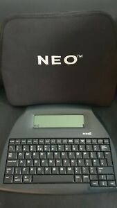 Neo 2 by Alphasmart Word Processor / Distraction Free Writing Tool