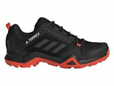 Adidas Mens Terrex AX3 Hiking Shoes Outdoor Black/Orange G26564 UK 7 to 11