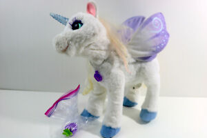 FurReal Friends StarLily My Magical Unicorn - w/ Berry - Movement, Sounds, Light