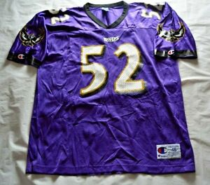 Vintage Ray Lewis #52 Baltimore Ravens Champion Jersey - Size 48 / XL