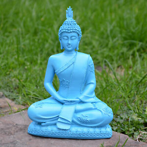 Fengshui Buddha ZEN Decoration Resin Yoga Meditation Sculpture Buddhist Figure