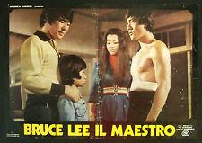 CINEMA-fotobusta BRUCE LEE IL MAESTRO  chin do, lee, CHIN WAH