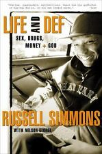 Life and Def: Sex, Drugs, Money, & God, Russell Simmons, NEW HB 2001, see notes