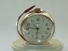 Vintage Vostok Rocket Alarm Clock Yuri Gagarin First Man Space USSR Soviet Union